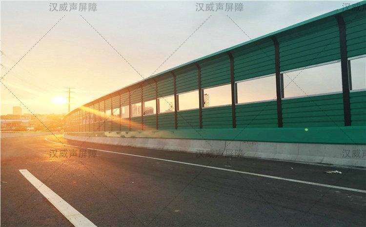 甘肃白银城市高架桥梁隔音挡板