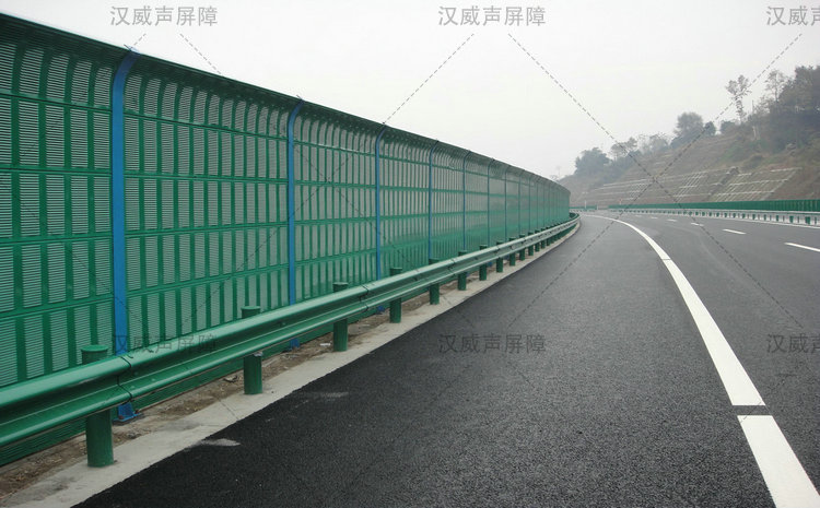 陕西宝鸡城市高架桥梁护音墙