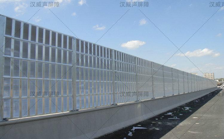 陕西宝鸡高速公路马路路基段隔声屏障