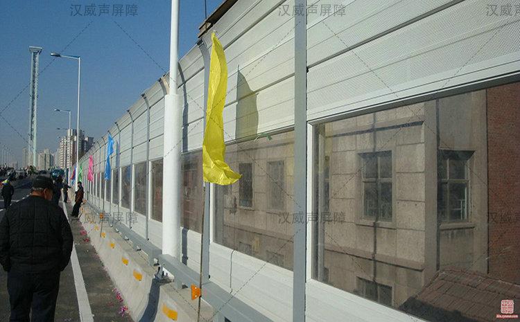 陕西宝鸡城市高架桥梁消声隔音板