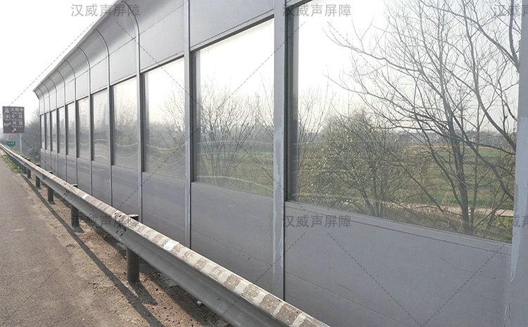甘肃白银高速公路马路路基段防尘隔音网