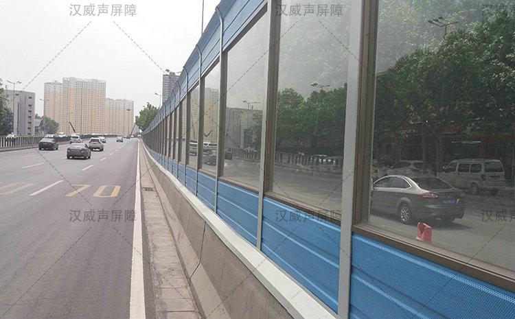 同德围高架交通噪声扰民两侧拟装声屏障