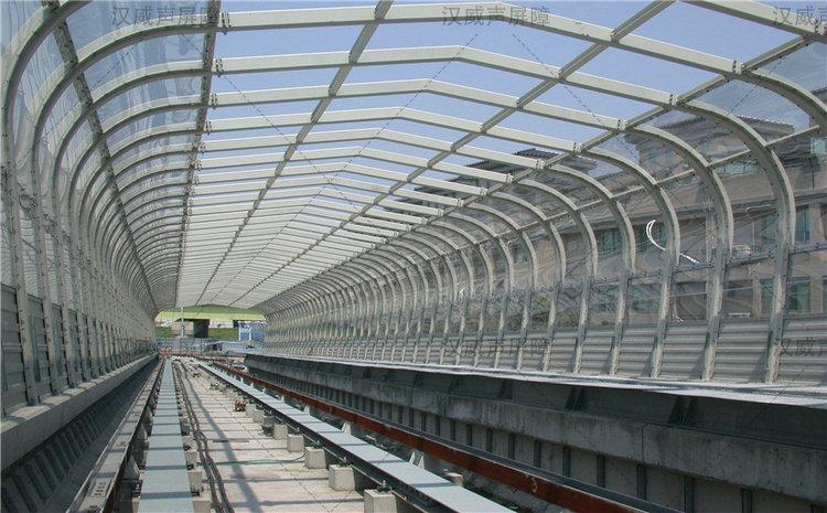 甘肃白银铁路高架地铁轨道交通声屏墙
