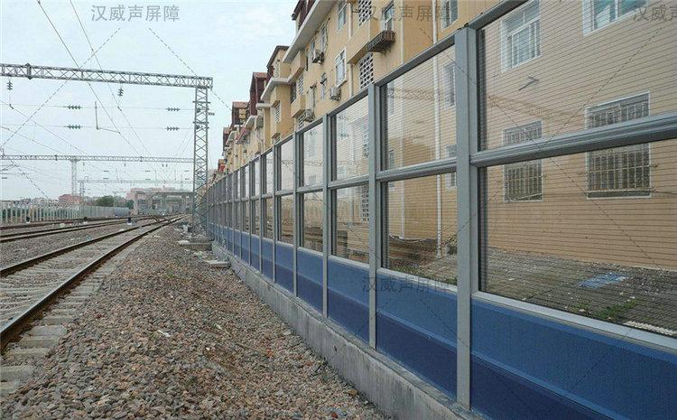 陕西宝鸡铁路高架地铁轨道交通隔音板