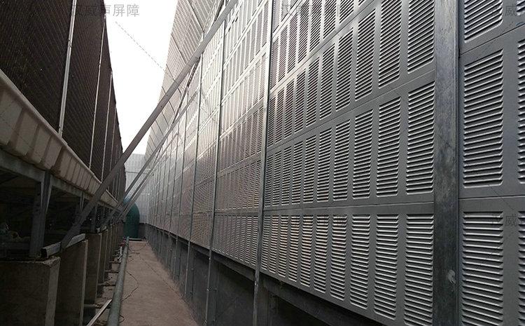 甘肃白银厂界围墙音屏障