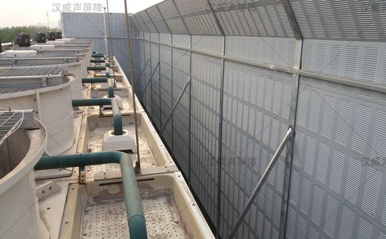 甘肃白银厂界围墙隔音棚
